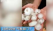 恒达代理平台_山东烟台遭遇冰雹天气 冰雹给果农造成一定损失