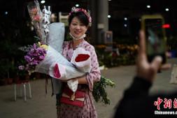 恒达登录_昆明斗南花卉市场交易回暖
